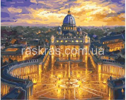 купить Brm23730 картину раскраска собор святого петра ватикан