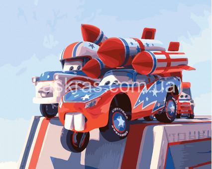 BRM26275 Картина раскраска Тачки на взлете