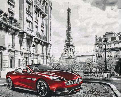 BRM26761 картина по номерам Парижское утро Rainbow Art