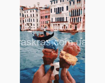 BRM28595 картина по номерам Путешествия. Венеция Rainbow Art