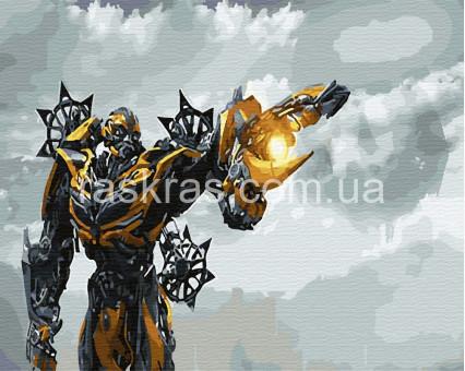BRM30110 Картина раскраска Трансформеры