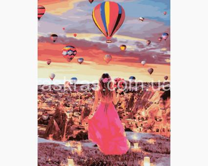 BRM32006 Картина по номерам Рассвет в Каппадокии