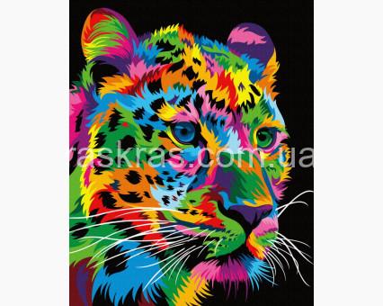 BRM35773 картина по номерам Пятнистый леопард Brushme