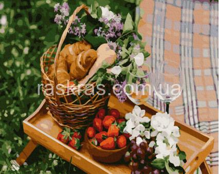 BRM38495 картина по номерам Романтический пикник Brushme
