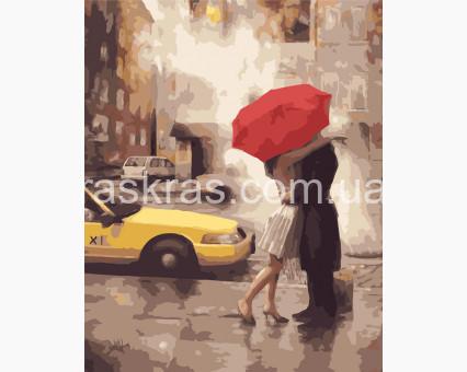 BRM7473 картина по номерам Под зонтом счастья Brushme