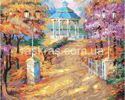 BRM9751 Картина раскраска Сказочная осень