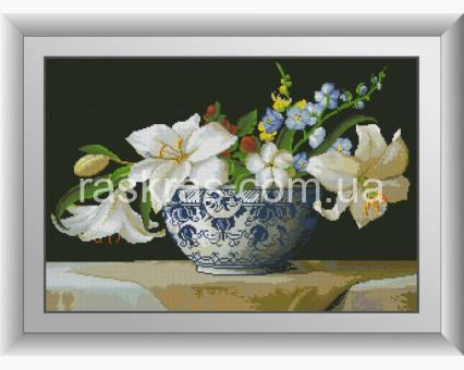 DA-30903 алмазная вышивка Белые лилии Dream Art
