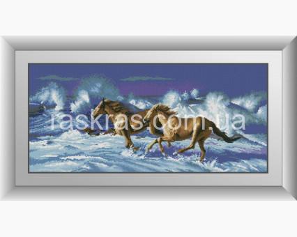 DA-30952 алмазная вышивка По волнам Dream Art