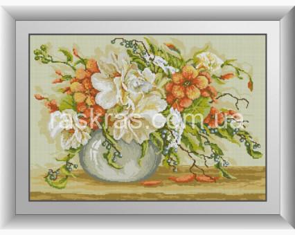 DA-30997 алмазная вышивка Настурции Dream Art