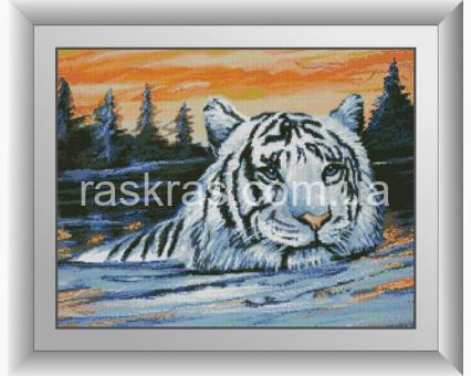 DA-30999 алмазная вышивка Тигр на закате Dream Art