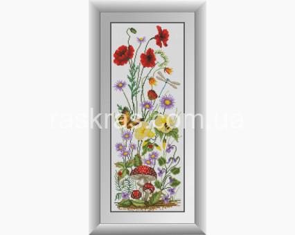 DA-31002 алмазная вышивка Полевые цветы (панель) Dream Art