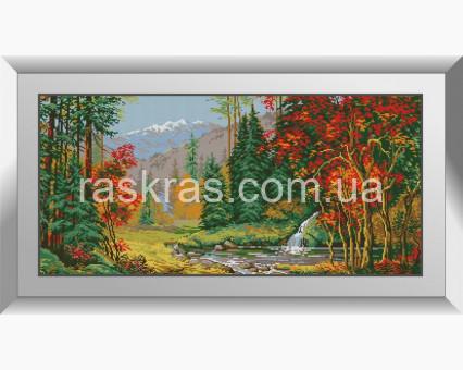 Картина из мозаики Dream Art Яркая осень (DA-31380)