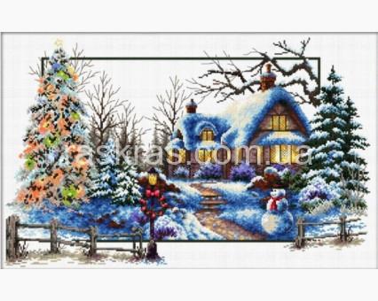 DO81004 набор для вышивания Зимняя соната (DO81004) 51 х 32 см Dome