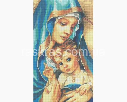 DVF1006 алмазная вышивка Мадонна с младенцем Алмазная мозаика