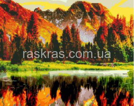 GZS1113 алмазная картина Осенний лес Brushme