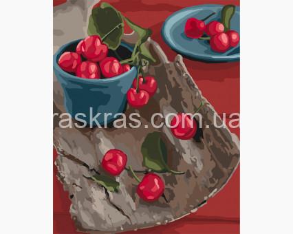 KHO5582 картина по номерам без коробки Спелые вкусности Идейка