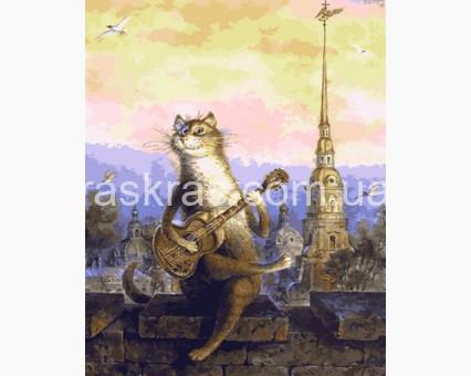 MR-Q2126 Раскраска по номерам Мартовский романс Mariposa