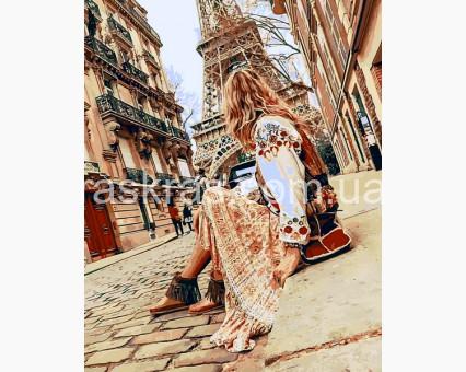 MR-Q2273 картина по номерам Пешие прогулки по Парижу Mariposa