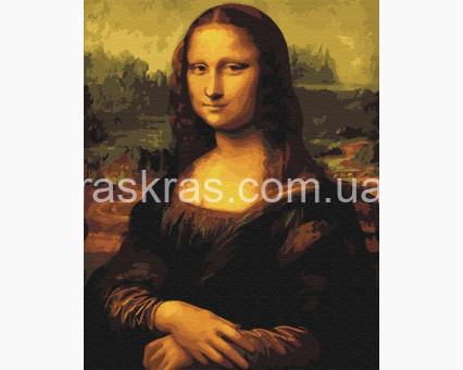 PG241 картина по номерам Мона Лиза Brushme Premium