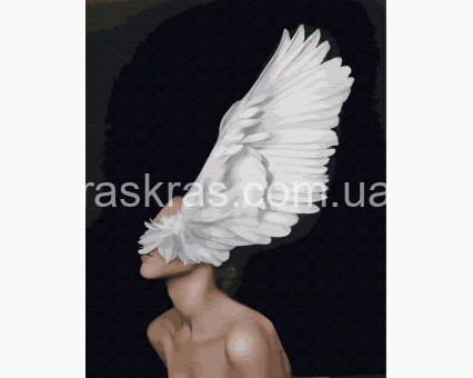 PGX29240 картина по номерам Крыла души Brushme Premium