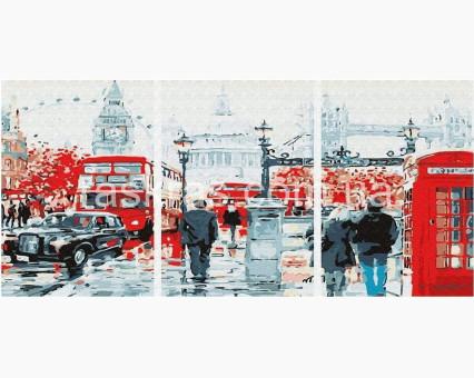 PX5296 картины по номерам Улицы Лондона НикиТошка