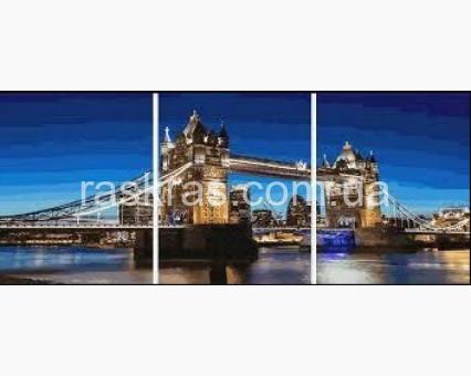 PX5300 картины по номерам Тауэрский мост НикиТошка
