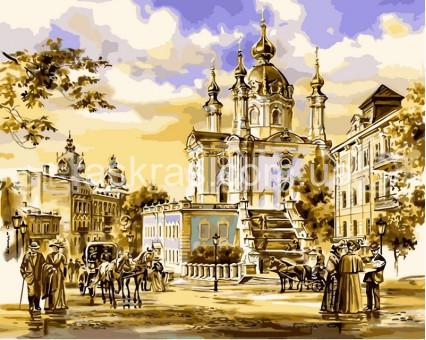 VPS051new картина по номерам София Киевская DIY Babylon