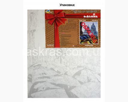 KHO5512 Картина раскраска без коробки Натюрморт с абрикосами и старинным сервизом Идейка