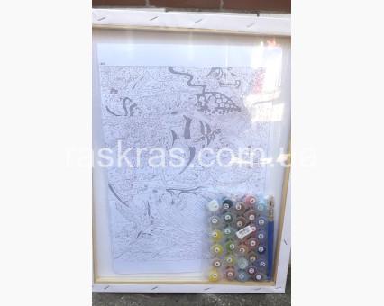 BK-GX30114 Картина раскраска Принцессы Диснея (Без коробки)