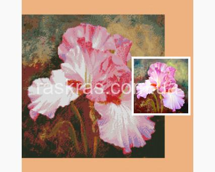 179735 Алмазная вышивка по фото Алмазная мозаика по фото 40 х 40 см
