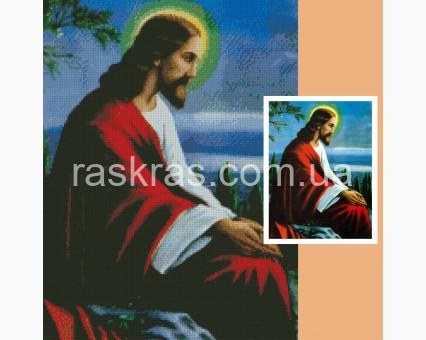 231722 набор по фото на подрамнике Алмазная вышивка по фото на подрамнике 45 х 60 см ТМ Алмазная мозаика