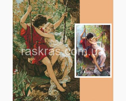 231727 набор по фото на подрамнике Алмазная мозаика по фото на подрамнике 60 х 90 см ТМ Алмазная мозаика
