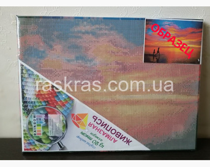 Алмазная мозаика Rainbow Art Кафе у моря (PDF6) 30 х 40 см