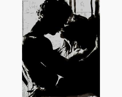 AS0186 Картина раскраска Близость ArtStory