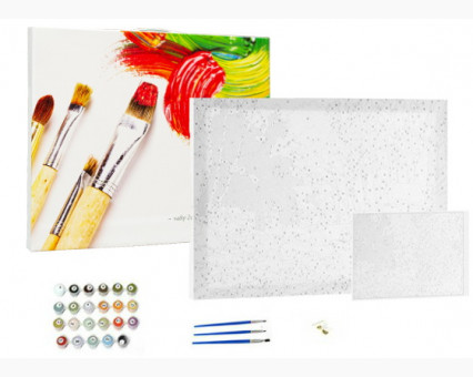 BK-GX8740 Картина по цифрам Росомаха (Без коробки)
