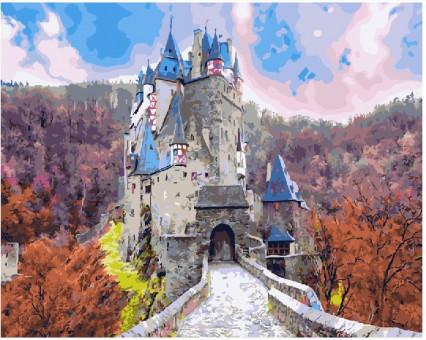 BK-GX21904 Картина раскраска Сказочный замок (Без коробки)