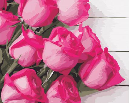 AS0349 картина по номерам Благородные розы ArtStory