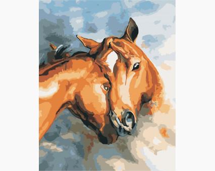 AS0395 картина по номерам Искренность ArtStory
