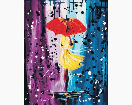 AS0444 картина по номерам Волшебный дождь ArtStory