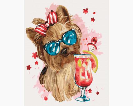 KHO4123 Картина раскраска Cool party (Без коробки) Идейка