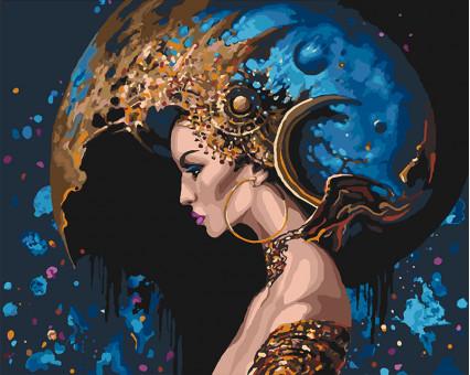 KHO4595 Картина раскраска Космос во мне (Без коробки) Идейка
