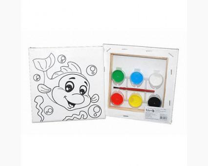 UMA473 Картинки раскраски для детей Дельфинчик Гулливер