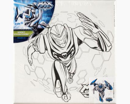 MX14216K Картинки раскраски для детей Max Steel на задании Wunder Kite