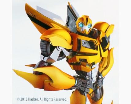 TF14216K Картинки раскраски для детей Transformers Бамблби Wunder Kite