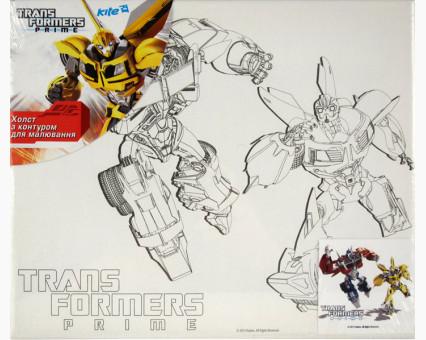 TF14218K Картинки раскраски для детей Transformers Оптимус Прайм и Бамблби Wunder Kite