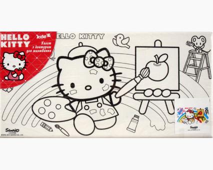 HK14215K Картина по цифрам Hello Kitty художница