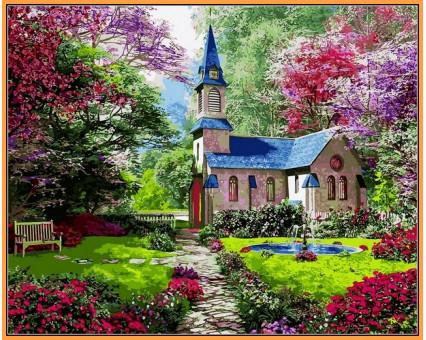 NB1153R картина по номерам Цветущий сад DIY Babylon Premium
