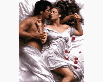 VP1223 картина по номерам Романтичное утро DIY Babylon