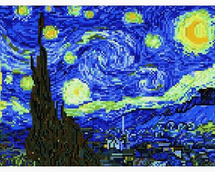 EJ191 алмазная вышивка Звёздная ночь Rainbow Art