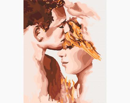 KH4678 картина по номерам Идеальная пара Идейка